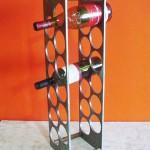 Mini bar - Largura: 40 cm | Altura: 19 cm | Profundidade: 19 cm | Material: Ferro
