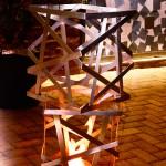 Queimador Tiras de aço - Largura: 45 cm | Altura: 45 cm | Profundidade: 45 cm | Material: Inox