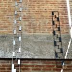 Tiras de Alumínio - Largura: 15 cm | Altura: 170 cm | Profundidade: 1 cm | Material: Alumínio