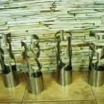 Cilindros - Diâmetro: 12,5 cm | Altura: 20 cm | Material: Inox