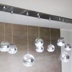 Luminária Teto Inox - Largura: 400 cm | Altura: 60 cm | Profundidade: 3 cm | Material: Aço inox