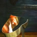 Queimador Curvas - Largura: 40 cm | Altura: 40 cm | Profundidade: 30 cm | Material: Inox